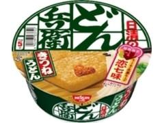 日清食品 日清のどん兵衛 きつねうどん 西 恋七味付き カップ95g