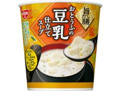日清食品 旨だし膳 おとうふの豆乳仕立てスープ
