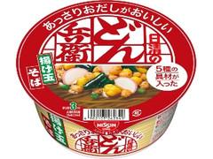 日清食品 あっさりおだしがおいしいどん兵衛 5種の具材が入った揚げ玉そば カップ70g