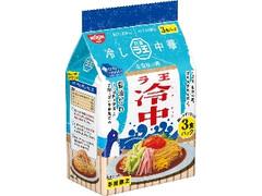 日清食品 ラ王 冷し中華 醤油だれ 袋3食
