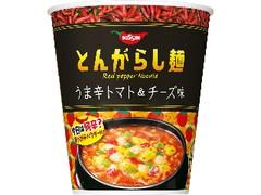 日清食品 とんがらし麺 うま辛トマト&チーズ味