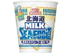 日清食品 カップヌードル 北海道濃厚ミルクシーフー道ヌードル