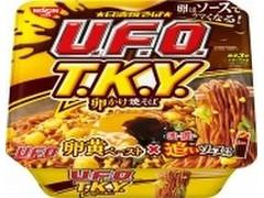 日清食品 日清焼そばU.F.O. T.K.Y. 卵かけ焼そば濃い濃い追いソース付き