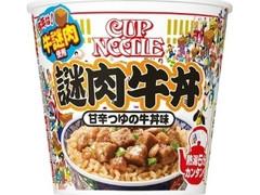 日清食品 カップヌードル 謎肉牛丼 カップ114g