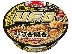 日清食品 日清焼そばU.F.O. 濃い濃いすき焼き風あんかけ麺