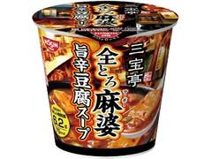 日清食品 三宝亭東京ラボ 全とろ麻婆 旨辛豆腐スープ