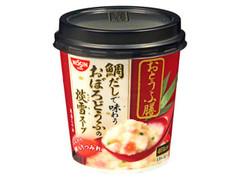 日清 おとうふ膳 鯛だしで味わうおぼろとうふの淡雪スープ カップ13g