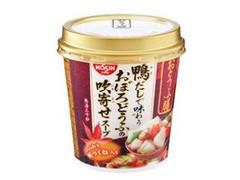 日清 おとうふ膳 鴨だしで味わうおぼろどうふの吹寄せスープ カップ23.4g