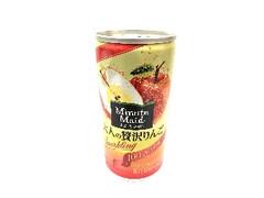 ミニッツメイド 大人の贅沢りんごスパークリング 缶190ml