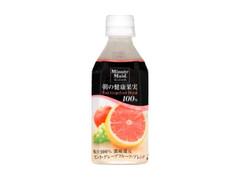 ミニッツメイド 朝の健康果実 ピンク・グレープフルーツ・ブレンド ペット350ml