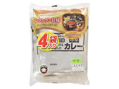 ニッポンハム レストラン仕様 ビーフカレー 中辛 袋170g×4