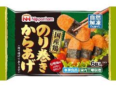ニッポンハム 国産鶏のりまきからあげ 袋6個