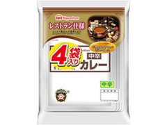 ニッポンハム レストラン仕様カレー 中辛 袋170g×4