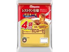 ニッポンハム レストラン仕様ボロネーゼ 袋120g×4