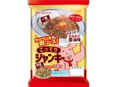ニッポンハム ガッツリ系肉ソース こってりジャンキー 袋210g