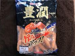 ニッポンハム 豊潤 あらびきポーク 袋820g