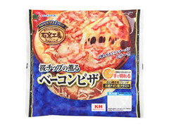 ニッポンハム 石窯工房 桜チップの薫るベーコンピザ 袋188g