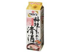 タカラ 料理のための清酒 パック1800ml