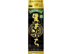 タカラ 本格焼酎 黒よかいち 麦 25度 パック1.8L