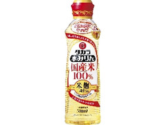 タカラ 国産米100%米麹二段仕込 本みりん ボトル500ml
