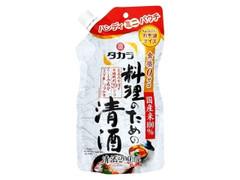 タカラ 宝焼酎 料理のための清酒 パック200ml