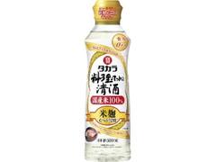 タカラ 料理のための清酒 米麹双麹仕込 ボトル500ml