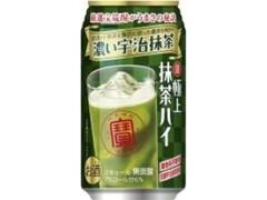 タカラ 寶 極上抹茶ハイ 濃い宇治抹茶 缶350ml