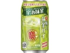 タカラ 寶 極上抹茶ハイ 宇治抹茶 缶350ml
