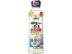 タカラ 料理のための清酒 糖質ゼロ らくらく調節ボトル ペット500ml