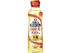 タカラ 本みりん 国産米100% 米麹二段仕込 ペット500ml