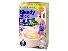 AGF ブレンディスティック 紅茶オレ 芳醇ロイヤルミルクティー 箱11g×10