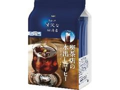 AGF ちょっと贅沢な珈琲店 レギュラー・コーヒー 喫茶店の水出しコーヒー 袋35g×4