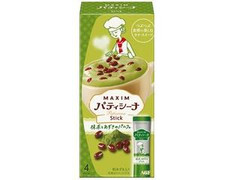 マキシム パティシーナ スティック 抹茶とあずきのパルフェ 箱16.4g×4