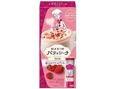 マキシム パティシーナ スティック 苺とラズベリーのパルフェ 箱14.6g×4