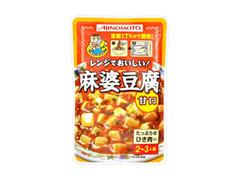 味の素 ススムくん 麻婆豆腐 甘口