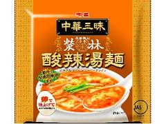 明星 中華三昧 赤坂榮林 酸辣湯麺 袋103g