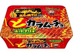 明星食品 一平ちゃん夜店の焼そば どカラムーチョホットチリ味 カップ116g