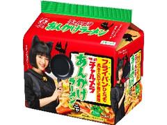 明星食品 チャルメラ あんかけラーメン すずネコパッケージ 袋94g×5