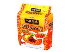 明星食品 中華三昧 麻辣担々麺 袋120g×3