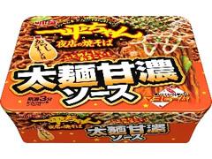 明星食品 一平ちゃん夜店の焼そば 太麺甘濃ソース カップ131g