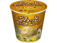 明星食品 ごろっと鶏だんごスープ 濃厚鶏白湯味 カップ24g
