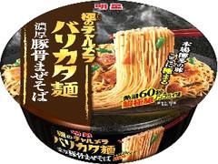 明星食品 極のチャルメラ バリカタ麺 濃厚豚骨まぜそば カップ107g
