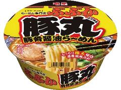 明星食品 ぶぶか 豚丸 豚骨醤油らーめん カップ119g