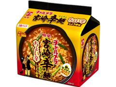 明星食品 チャルメラ 宮崎辛麺 ちょい辛しょうゆ味