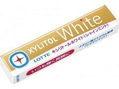 ロッテ キシリトール ホワイト シャインミント 14粒