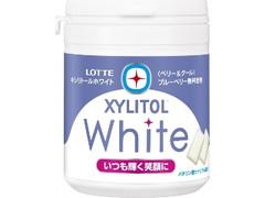 ロッテ キシリトールホワイト ベリー&クール ファミリーボトル ボトル143g