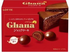 ロッテ ガーナ しっとりショコラケーキ 箱38g