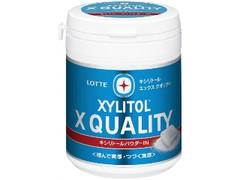 ロッテ キシリトール X QUALITY ファミリーボトル ボトル124g