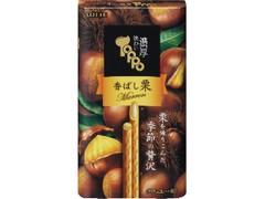 ロッテ 味わい濃厚トッポ 香ばし栗 箱2袋