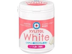 ロッテ キシリトールホワイト ピンクグレープフルーツ ファミリーボトル ボトル143g